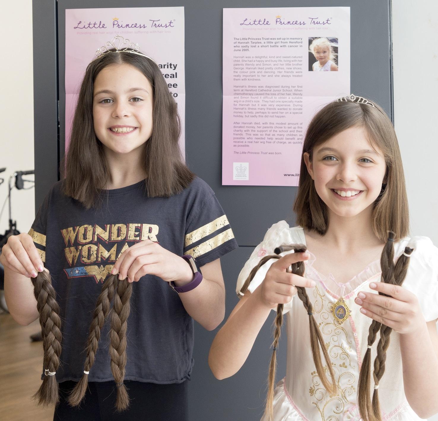 Girls Donate Their Hair Bognor Regis Post