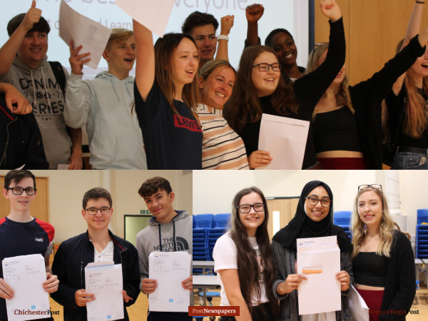 Kasjan helps school to record bognor a levels education students