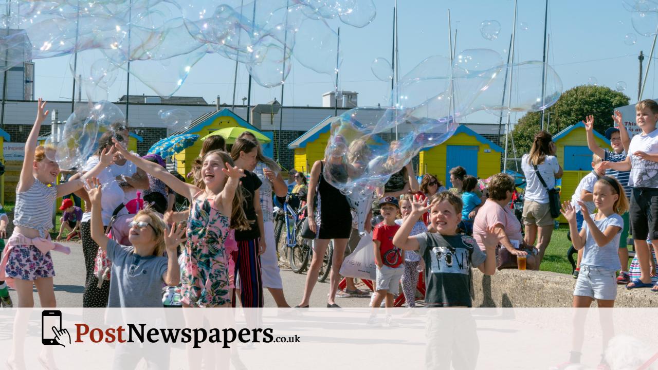 kids bubbles bognor regis post news prom felpham